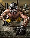 photo wallpaper rey mysterio